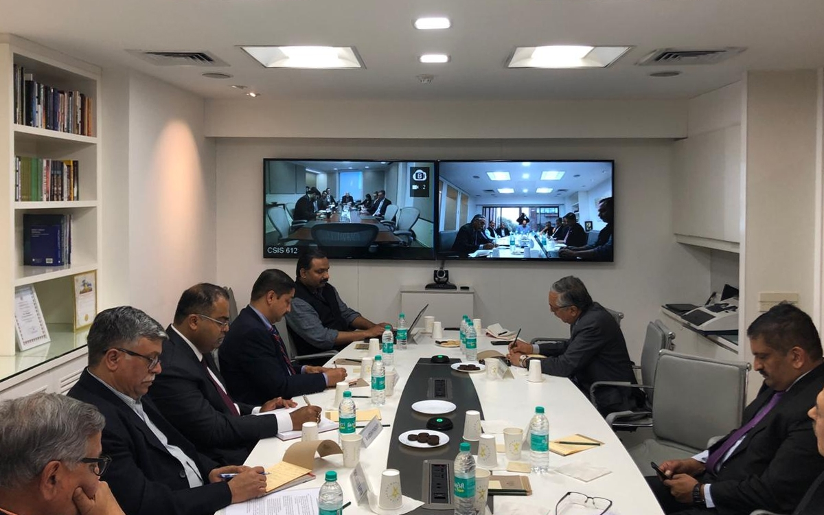 5th DPG-CSIS India-US Security Working Group Video Conference
